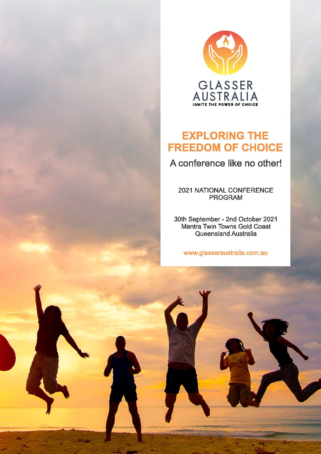 2021 Glasser Australia National Conference – Exploring the Freedom of Choice
